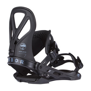 Arbor Hemlock Snowboard Bindings 2017 - Black
