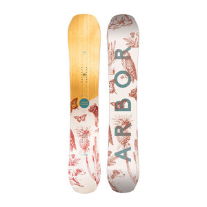 Arbor Swoon Rocker 144 Women's Snowboard 2019