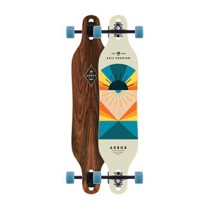 Arbor Axis Premium Complete Skateboard - Flagship