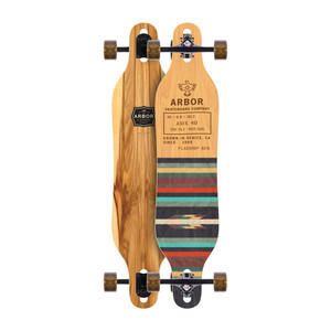 "Arbor Axis 40"" Complete Skateboard - Flagship"