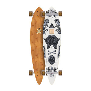 Arbor Fish 37 Complete Skateboard - Bamboo Collection