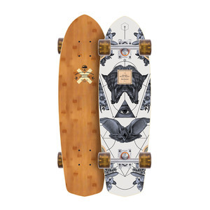 Arbor Pocket Rocket Complete Skateboard - Bamboo Collection