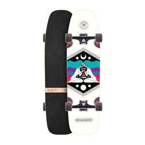 """Arbor Shakedown 34"""" Complete Skateboard - Crosscut"""