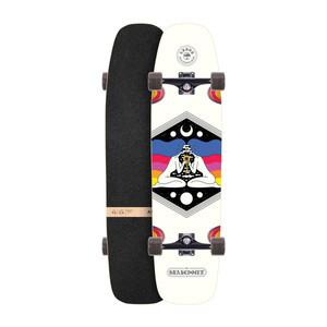 """Arbor Shakedown 37"""" Complete Skateboard - Crosscut"""