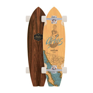 Arbor Sizzler Complete Skateboard - Groundswell