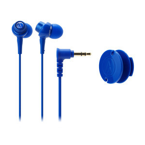 Audio-Technica DIP In-Ear Headphones — Blue