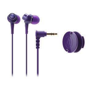 Audio-Technica DIP In-Ear Headphones — Purple