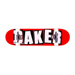 """Baker Brand Logo 8.0"""" Complete Skateboard"""