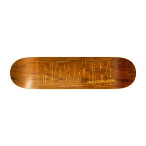 "Baker Hawk Logo 8.25"" Skateboard Deck - Teak Veneer"