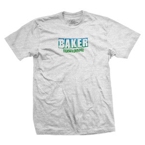 Baker OG Logo T-Shirt – Ash/Heather