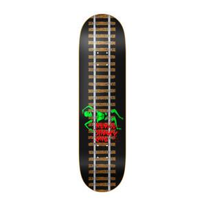 "Baker Spanky Train Tracks 8.125"" Skateboard Deck"