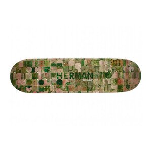 "Baker Herman Crop Cirlces 8.25"" Skateboard Deck"
