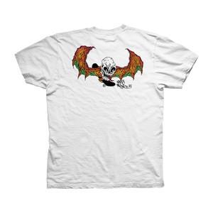 Baker x Neckface Demon Blaze T-Shirt — White