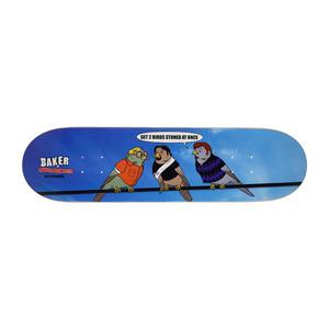 """Baker Dee Two Birds 8.25"""" Skateboard Deck"""