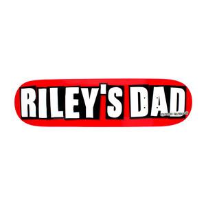 """Birdhouse Riley's Dad 8.5"""" Skateboard Deck"""