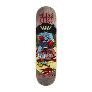 "Birdhouse Dixon Vices 8.25"" Skateboard Deck - Grey"