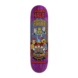 "Birdhouse Hale Vices 8.38"" Skateboard Deck - Purple"