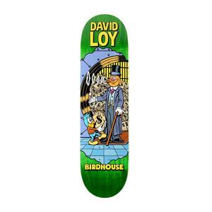 "Birdhouse Loy Vices 8.38"" Skateboard Deck - Green"