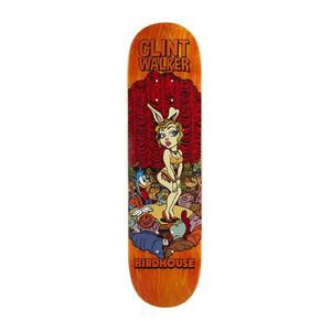 "Birdhouse Walker Vices 8.125"" Skateboard Deck - Orange"