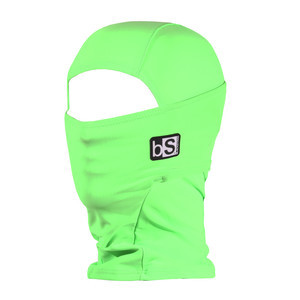 BlackStrap Kids Hood Balaclava — Bright Green