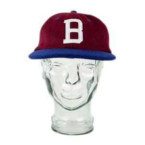 BLAK Rascal Snapback Hat - Burgundy