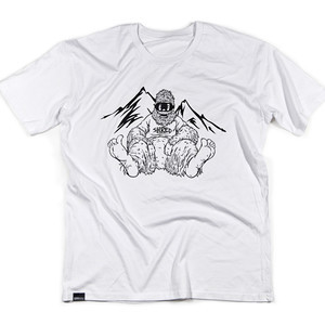 Boardworld Bigfoot T-shirt - White