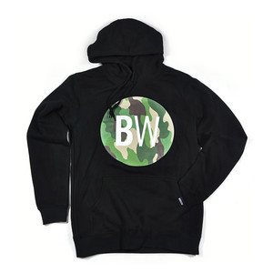Boardworld Camo Circle Hoodie - Black