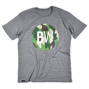 Boardworld Camo Circle T-Shirt - Grey