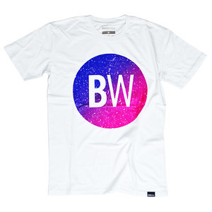BOARDWORLD Pink Speckled T-Shirt - White