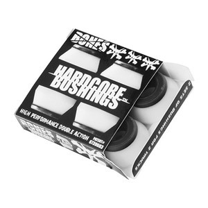 Bones Hardcore Hard Skateboard Bushings — White