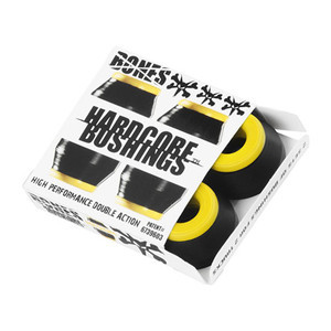 Bones Hardcore Medium Skateboard Bushings — Black