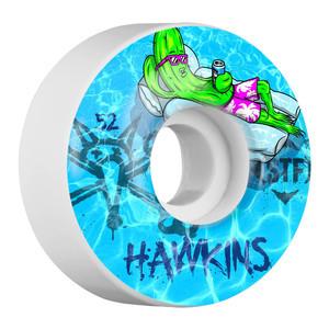 Bones STF Hawkins Water 52mm Skateboard Wheels