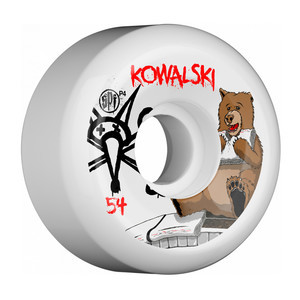 Bones SPF Kowalski Bear 54mm Skateboard Wheels