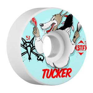 Bones STF Tucker Wolfpack 51mm Skateboard Wheels