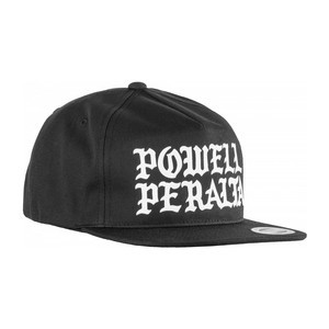 Powell-Peralta Burst Snapback Hat - Black