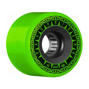 Bones ATF Rough Rider Tank 56mm Skateboard Wheels - Green