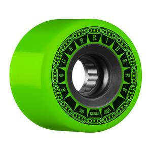 Bones ATF Rough Rider Tank 59mm Skateboard Wheels - Green