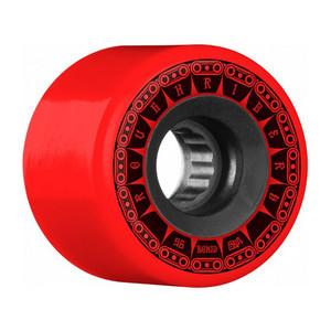 Bones ATF Rough Rider Tank 56mm Skateboard Wheels - Red