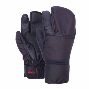 Celtek Trippin Men's Snowboard Trigger Mitts - Black