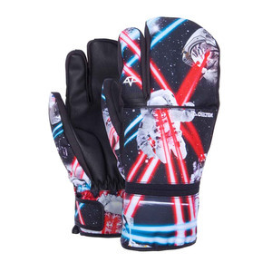 Celtek Trippin Men's Snowboard Trigger Mitts - Pet Wars
