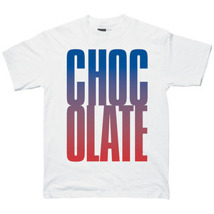 Chocolate Big Chocolate Graphic T-Shirt — White