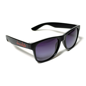 Chocolate Deluxe Chunk Sunglasses - Black