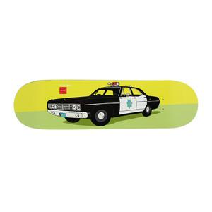 "Chocolate x HUF San Francisco Cop Car 8.5"" Skateboard Deck"