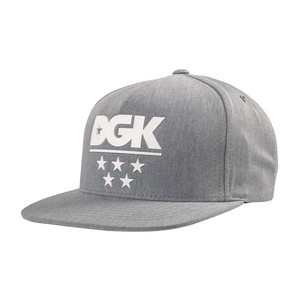 DGK Game Time Snapback — Heather
