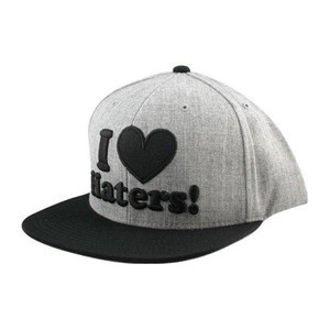 DGK Haters Snapback — Heather/Black