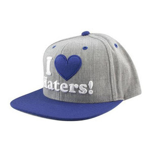 DGK Haters Snapback — Heather/Royal Blue