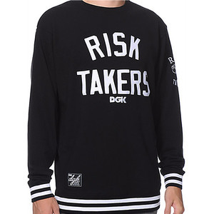 DGK Risk Takers Crew — Black