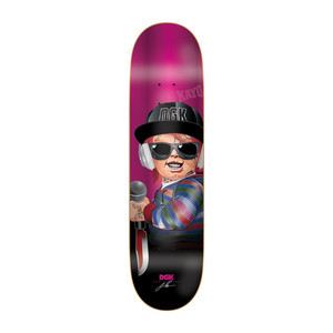 "DGK Killers Boo 8.25"" Skateboard Deck"