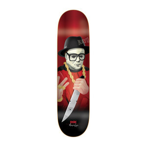 "DGK Killers Marquise 8.1"" Skateboard Deck"