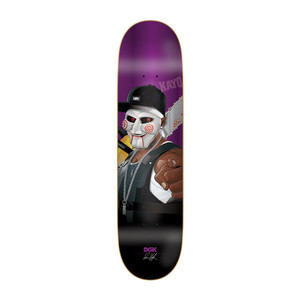 "DGK Killers Vaughn 8.06"" Skateboard Deck"